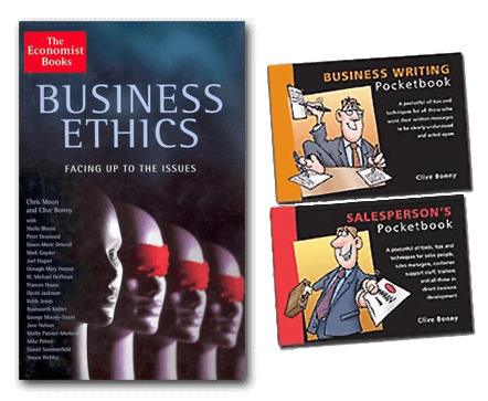 The Economist Books, Business Ethics Facing up to the Issues and SalesPerson's pocketbook