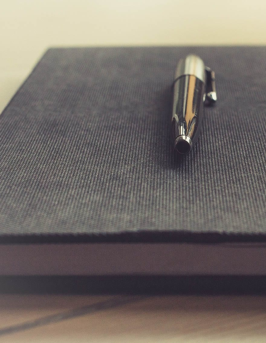 business notepad