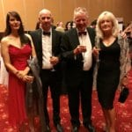 Business awards evening